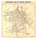 1930 Map of Athens
