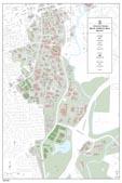 24 x 36 UGA Campus Map