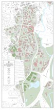 24 x 48 UGA Campus Map
