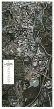 24 x 48 UGA Campus Map with 2013 Arial Photo
