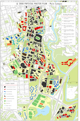 Current Master Plan | University Architects