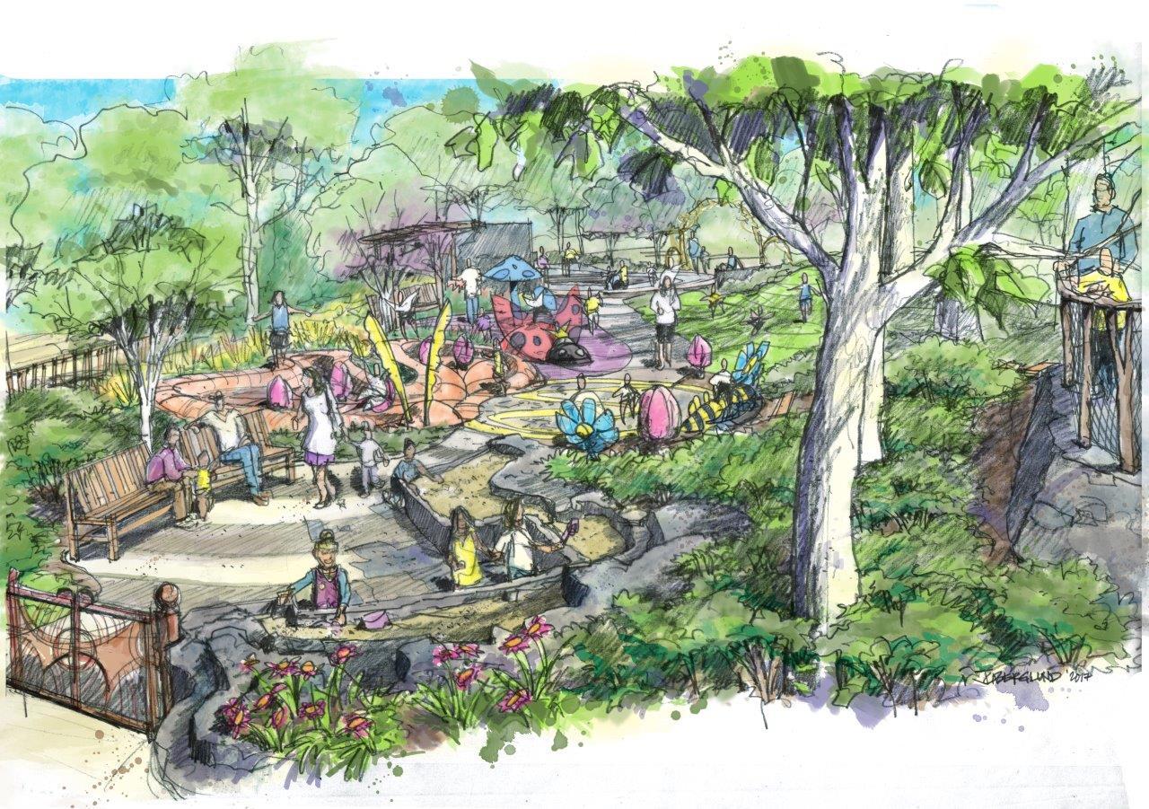 alice h richards children 39 s garden at the state botanical. Black Bedroom Furniture Sets. Home Design Ideas
