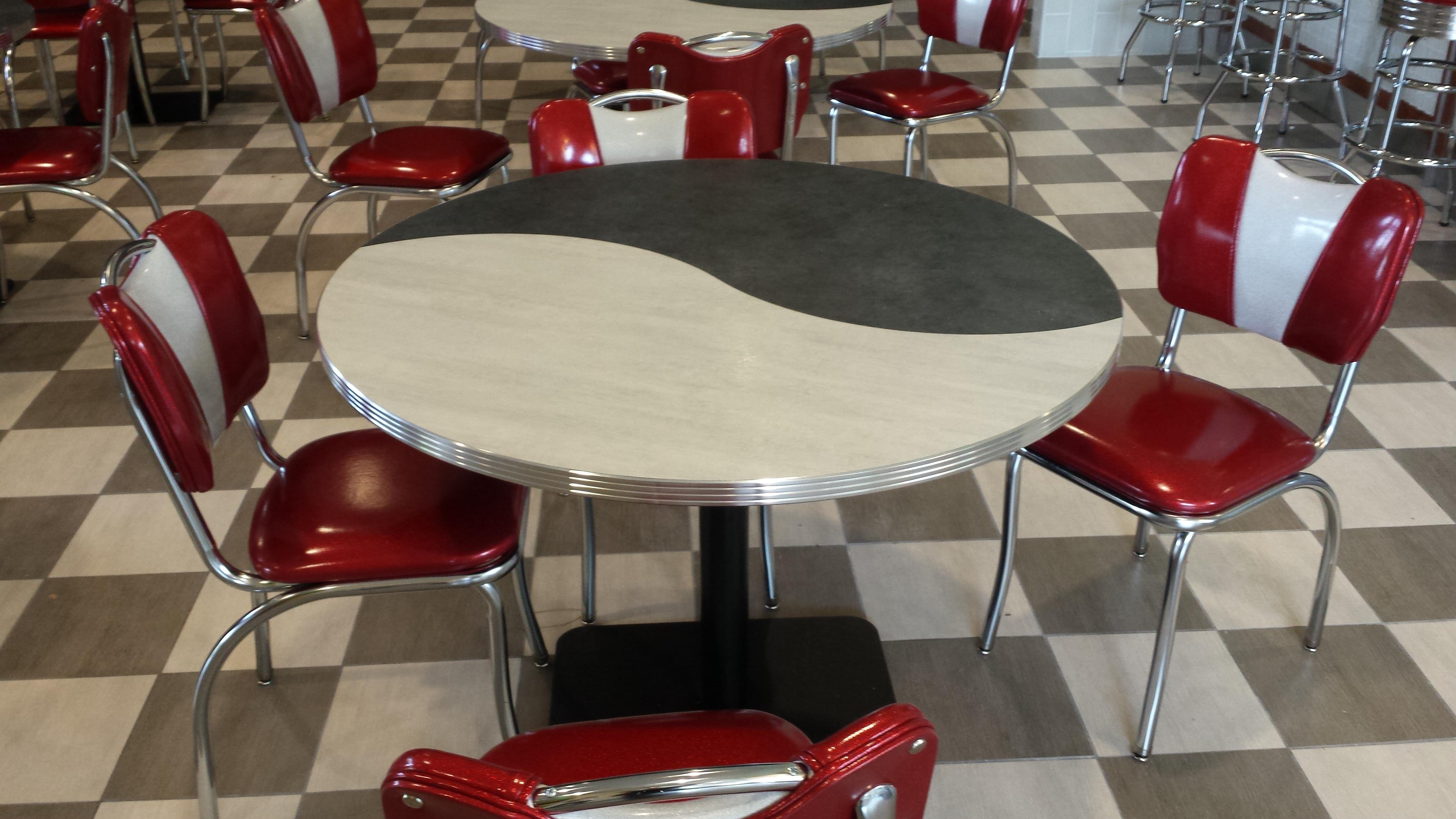 Milkshake Venue Custom Retro Dining Furnishings