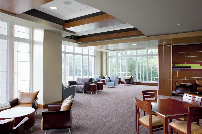 Multi Purpose Living Room Residence Hall 1516 University Architects