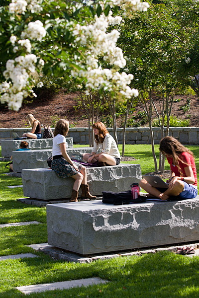 Memorial Garden University Architects