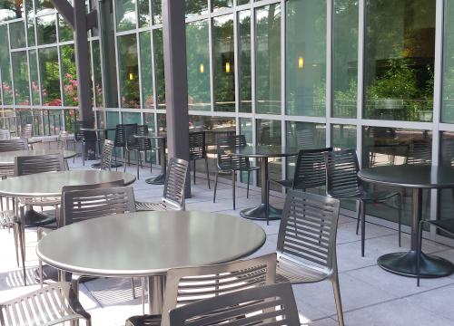 Exterior Dining 2nd Level