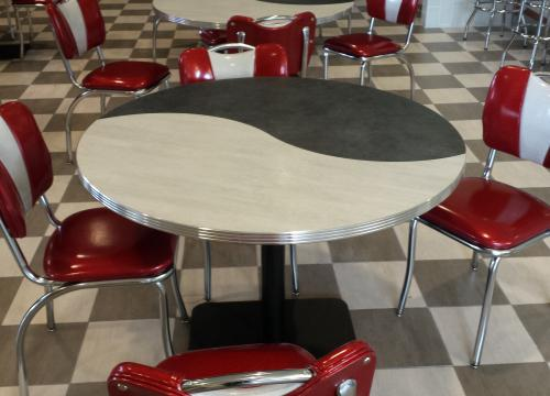 Milkshake Venue- Custom Retro Dining Furnishings