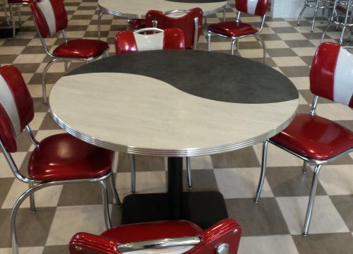 Milkshake Venue- Custom Retro Dining Furnishings