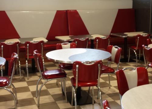 Milkshake Venue- Custom Banquette