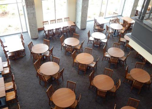 General Dining 1st Floor View From 2nd Floor