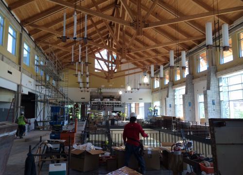 Bolton Dining Hall Interior