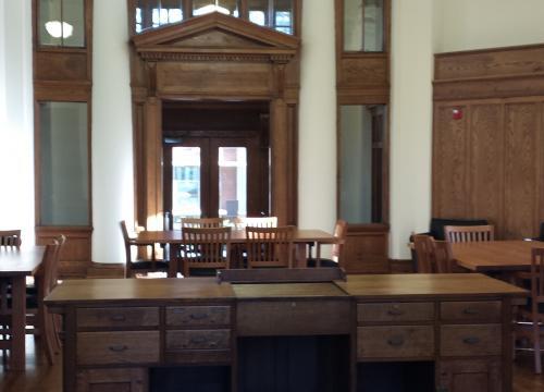 Interior and Main Desk