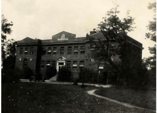Flynt Building historic photo