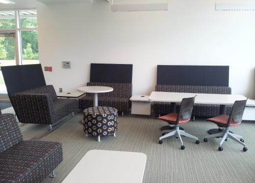 Scott Hall First Floor Lounge and Collaboration