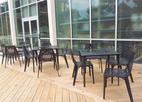 Scott Hall Outdoor Deck