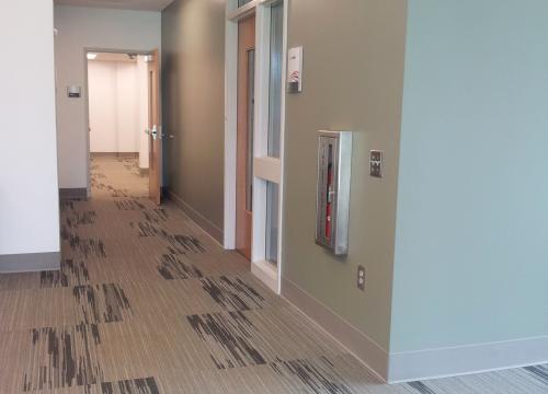 Scott Hall Ground Level Corridor
