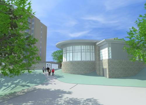 Initial Architectural Renderings