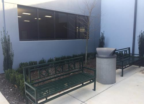 Pharmacy Augusta HM Building Courtyard