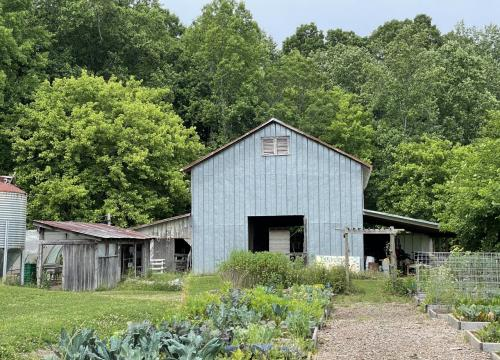 Sustainable Food Systems Maintenance Barn