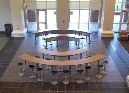 Open Mike Fixed Tables/Seating