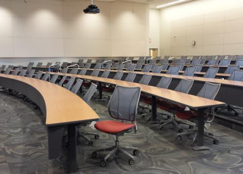 Veterinary Medicine Education Center Large Classroom