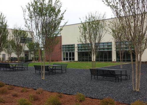 Veterinary Medicine Learning Center Exterior Furnishings UGA Standard